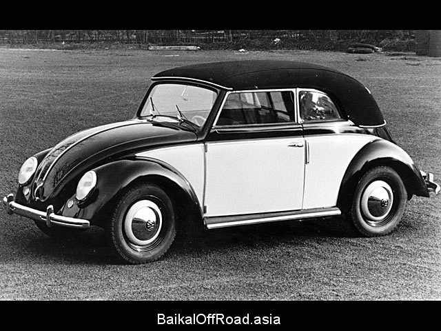 Volkswagen Kaefer Cabrio 1303 1.3 (44Hp) (Механика)