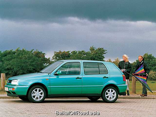 Volkswagen Golf 1.9 TD,GTD (75Hp) (Механика)