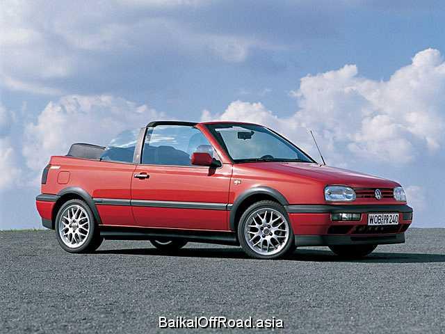 Volkswagen Golf Cabrio 1.6 i (100Hp) (Автомат)
