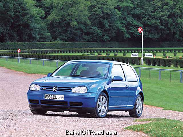 Volkswagen Golf 2.8 V6 4motion (204Hp) (Механика)