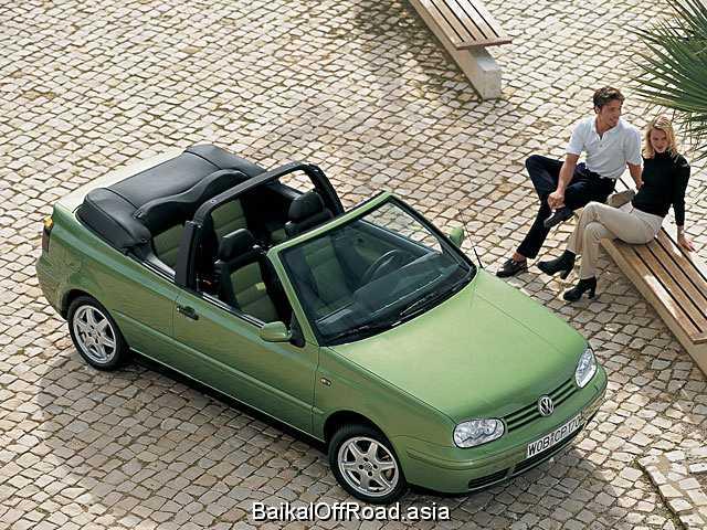 Volkswagen Golf Cabrio 2.0 i (116Hp) (Механика)