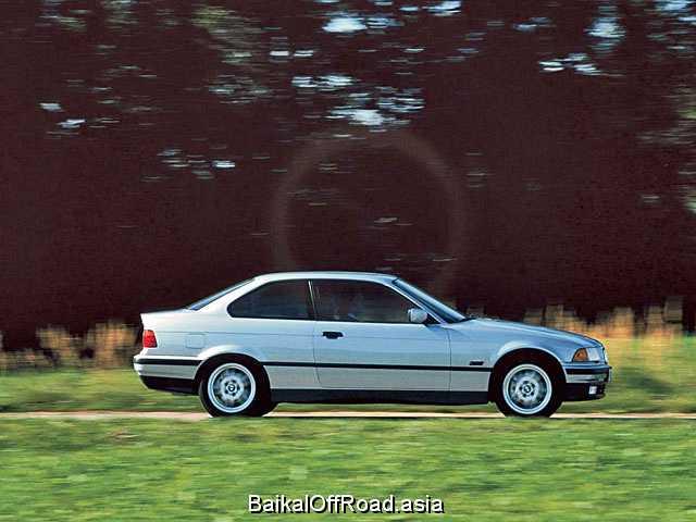 BMW 3 Series Coupe 323i 2.5 (170Hp) (Механика)