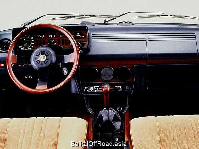 Alfa Romeo Alfetta 1.8 (116Hp) (Механика)