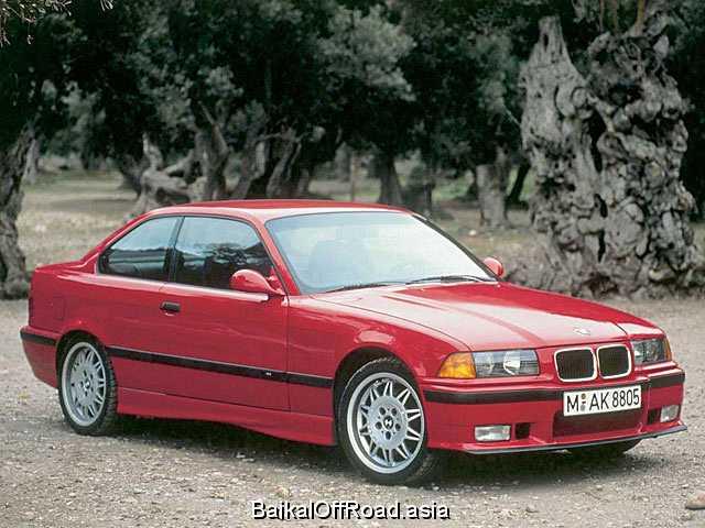 BMW M3 Coupe 3.2 (321Hp) (Механика)