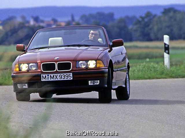 BMW 3 Series Cabrio 325i  (192Hp) (Механика)