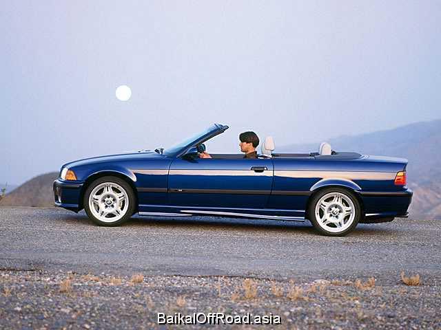 BMW M3 Cabrio 3.2 (321Hp) (Механика)