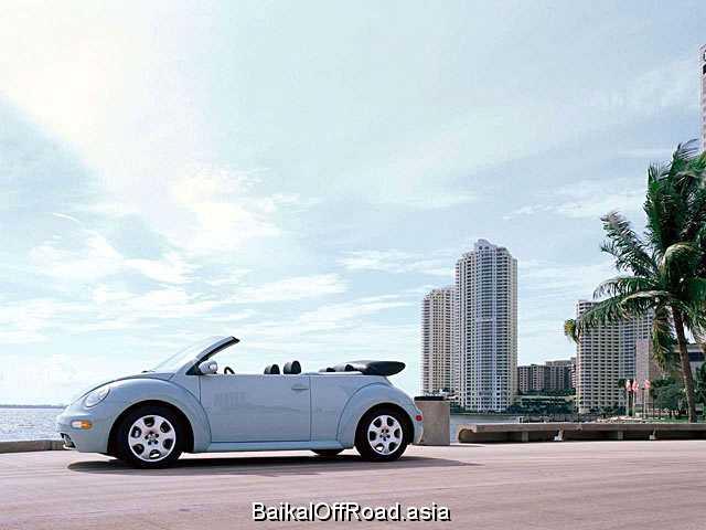 Volkswagen New Beetle Convertible 1.9 TDI (101Hp) (Механика)