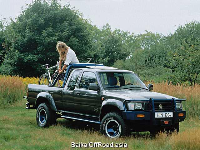 Volkswagen Taro 2.4 D (79Hp) (Механика)
