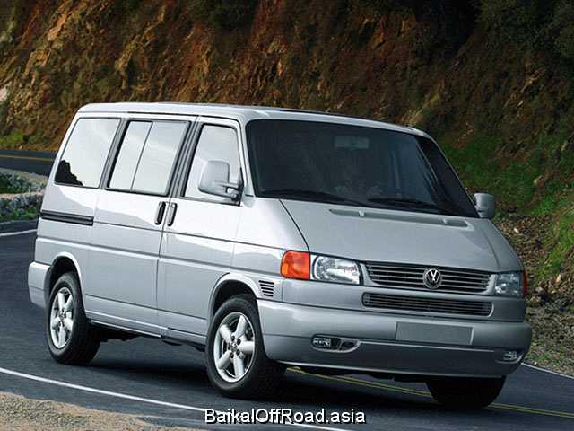 Volkswagen Transporter 2.5 TDi syncro (102Hp) (Механика)
