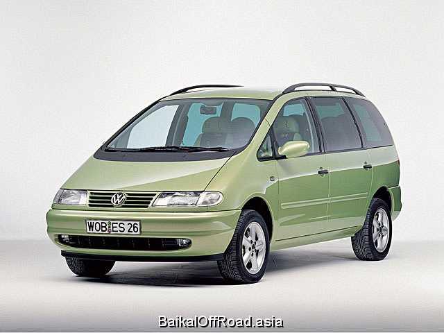Volkswagen Sharan 2.8 i VR6 24V Syncro (204Hp) (Автомат)