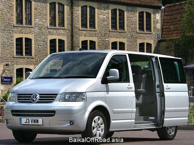 Volkswagen Multivan 2.5 TDI 4motion (130Hp) (Механика)