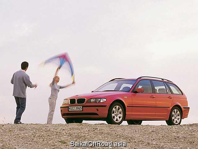 BMW 3 Series Touring 330d  (184Hp) (Механика)