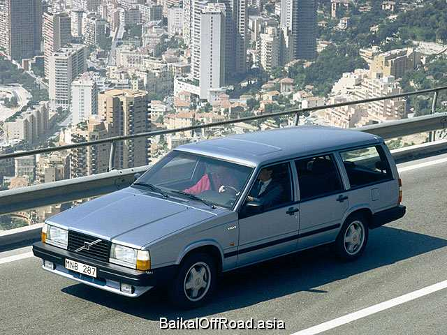 Volvo 740 Kombi 2.3 Turbo (182Hp) (Механика)