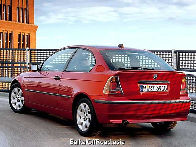 BMW 3 Series Compact 318td  (115Hp) (Механика)