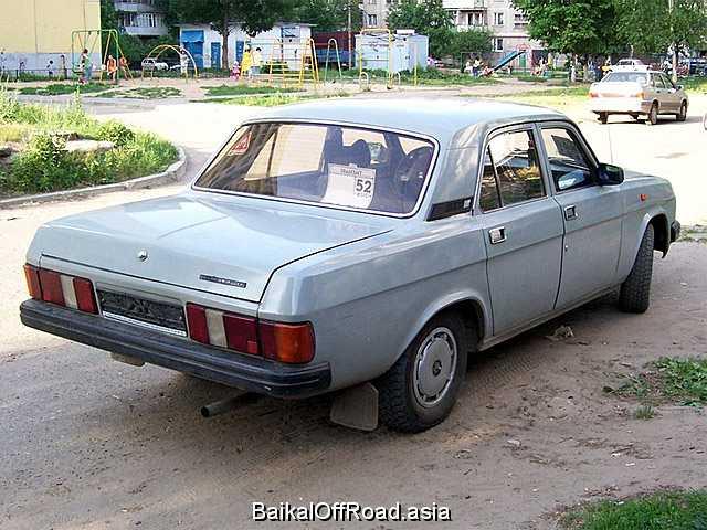 ГАЗ 31022 2.3 (90Hp) (Механика)