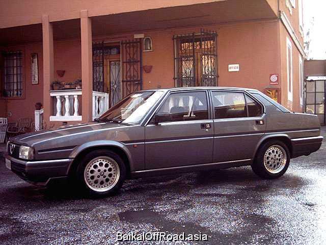 Alfa Romeo 90 2.5 i.e. V6 (150Hp) (Механика)