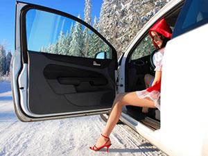 Профилактика замерзания замка автомобиля