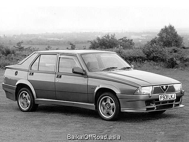 Alfa Romeo 75 2.5 V6 KAT (154Hp) (Механика)