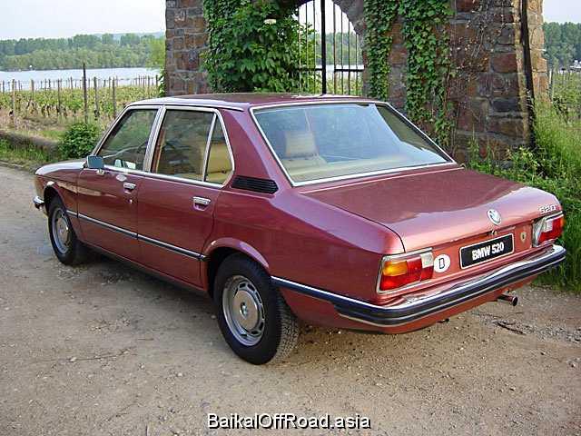 BMW 5 Series 520i  (131Hp) (Механика)