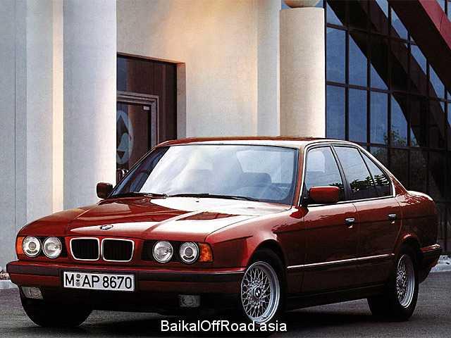BMW 5 Series 524 td (115Hp) (Механика)