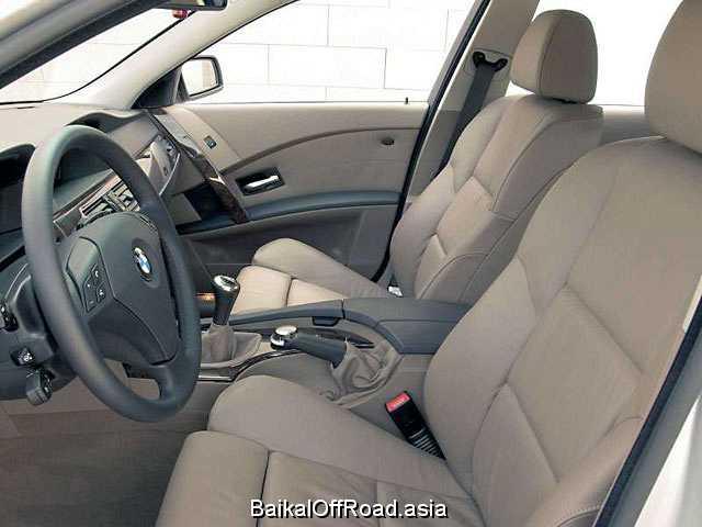 BMW 5 Series Touring 520d  (163Hp) (Механика)
