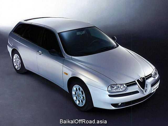 Alfa Romeo 156 Sportwagon 2.5 i V6 24V (190Hp) (Механика)