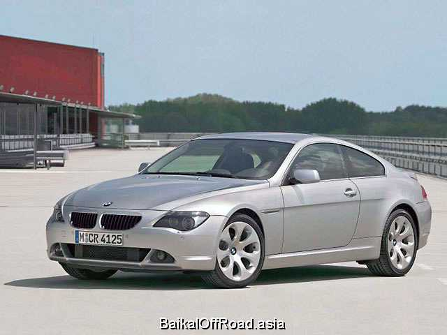 BMW 6 Series 630i  (272Hp) (Механика)
