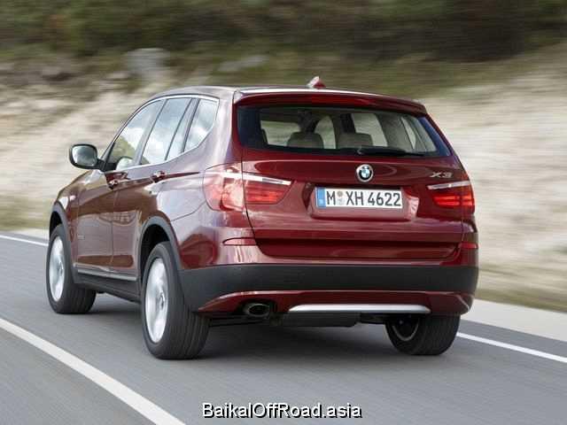 BMW X3 xDrive20d (184Hp) (Механика)