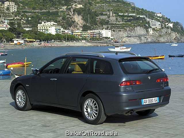 Alfa Romeo 156 Sportwagon (facelift) 2.5 i V6 24V Q-System (192Hp) (Автомат)