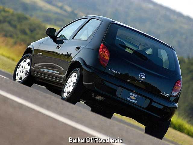 Chevrolet Celta 1.4 (86Hp) (Механика)