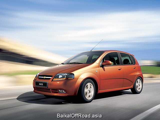 Chevrolet Aveo 1.4 i (83Hp) (Механика)