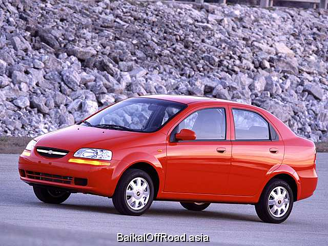 Chevrolet Aveo (facelift) 1.2 (84Hp) (Механика)