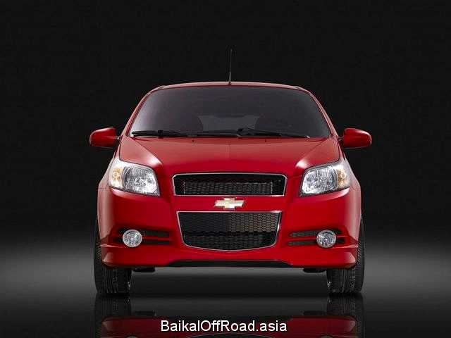 Chevrolet Aveo (facelift) 1.4 (101Hp) (Автомат)