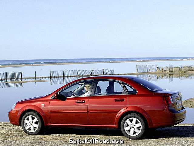 Chevrolet Nubira 1.6 i 16V (109Hp) (Механика)