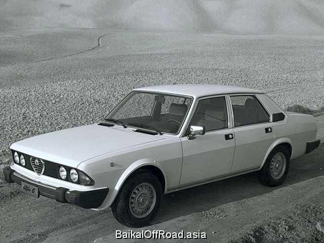 Alfa Romeo 6 2.5 i.e. (158Hp) (Механика)