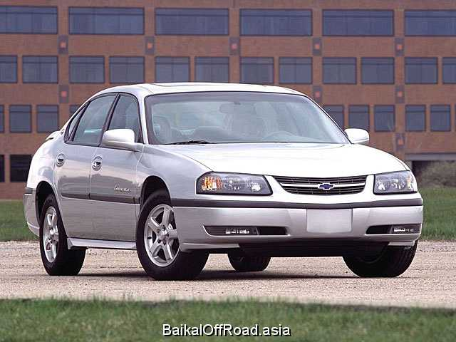 Chevrolet Impala 3.5 i V6 (212Hp) (Автомат)