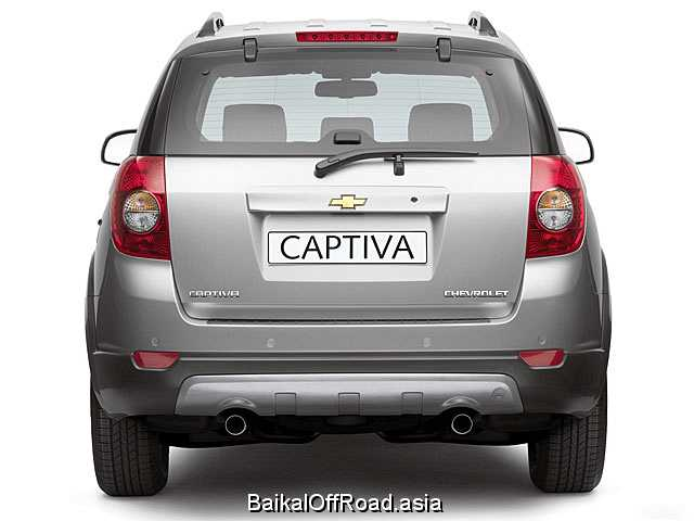 Chevrolet Captiva 2.4 i 16V AWD (136Hp) (Механика)