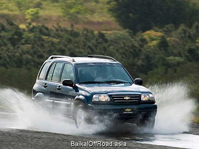 Chevrolet Tracker 2.5 i V6 24V 4WD (167Hp) (Механика)