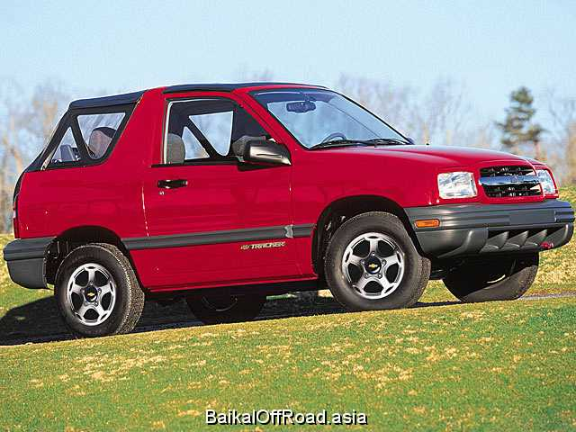 Chevrolet Tracker Convertible 1.6 i 16V 4WD (97Hp) (Механика)