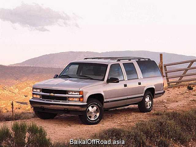 Chevrolet Suburban 6.5 i V8 TD 4WD (173Hp) (Автомат)