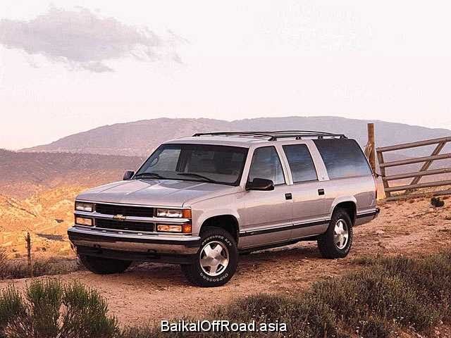 Chevrolet Suburban 7.4 i V8 4WD (290Hp) (Автомат)