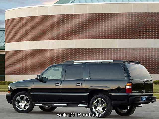 Chevrolet Suburban 8.1 i V8 4WD 2500 (344Hp) (Автомат)