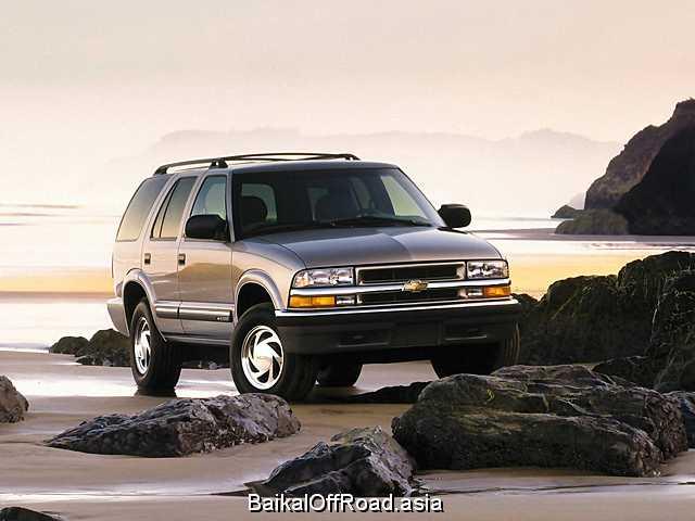 Chevrolet Blazer 4.3 i V6 CPI 4 WD (190Hp) (Автомат)
