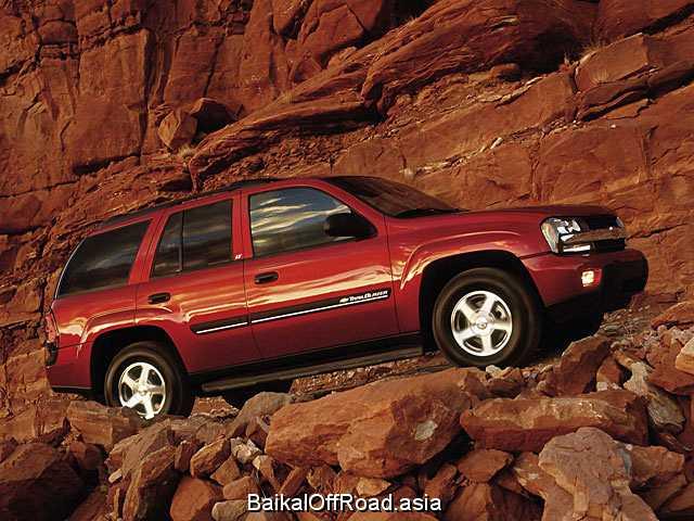 Chevrolet Trailblazer 4.2 i 24V 4WD (279Hp) (Механика)