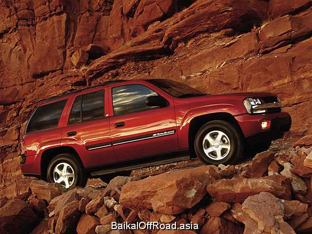 Chevrolet Trailblazer 5.3 i V8 4WD (288Hp) (Автомат)