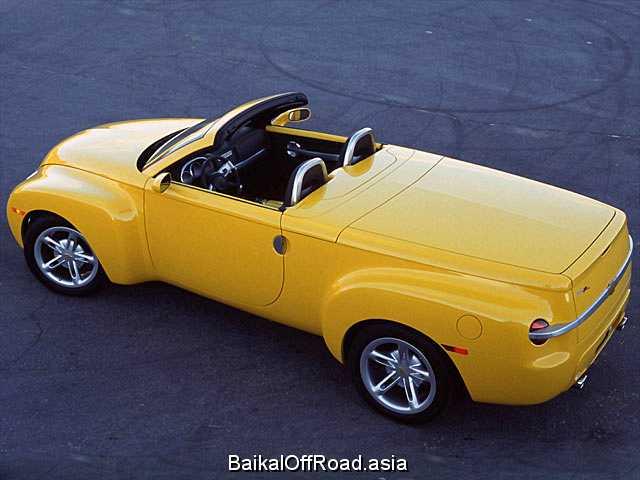 Chevrolet SSR 6.0 i V8 (390Hp) (Механика)