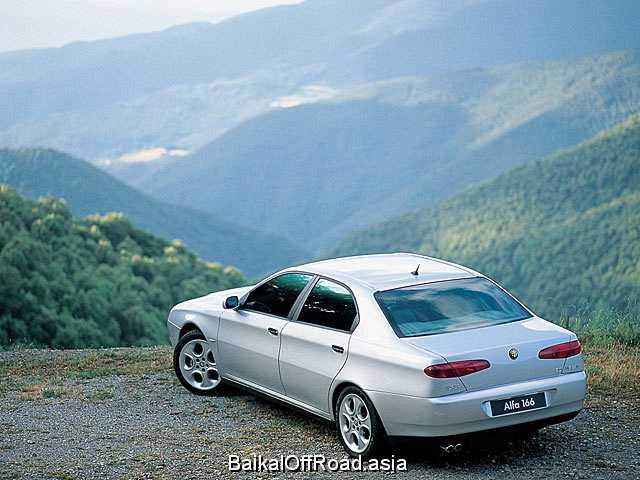 Alfa Romeo 166 2.5 i V6 24V (190Hp) (Механика)
