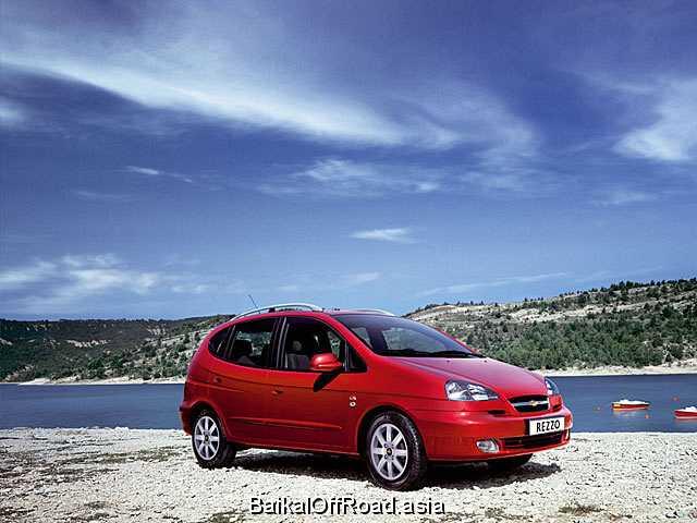 Chevrolet Rezzo 2.0 i 16V (121Hp) (Автомат)