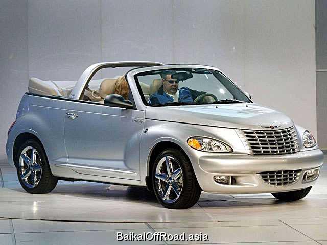Chrysler PT Cruiser Cabrio 2.4 i 16V (150Hp) (Механика)