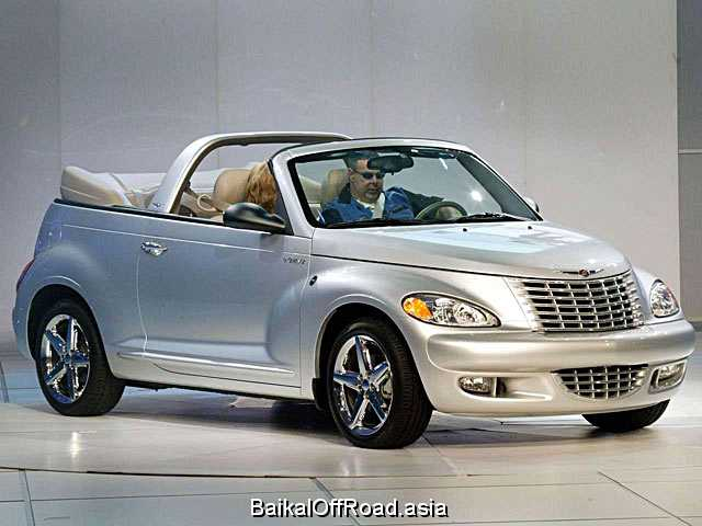 Chrysler PT Cruiser Cabrio 2.4 i 16V Turbo (182Hp) (Автомат)